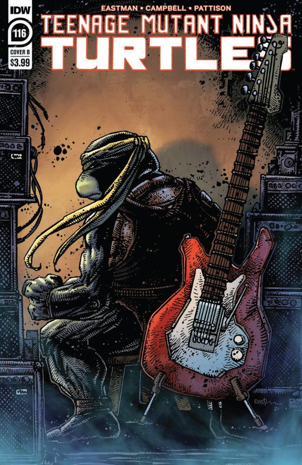Teenage Mutant Ninja Turtles #116 comic review