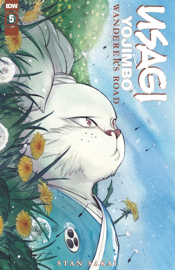 Usagi Yojimbo: Wanderer's Road #5 comic review