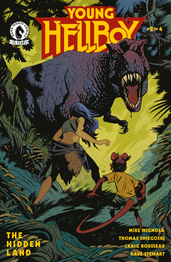 Young Hellboy: The Hidden Land #2 comic review
