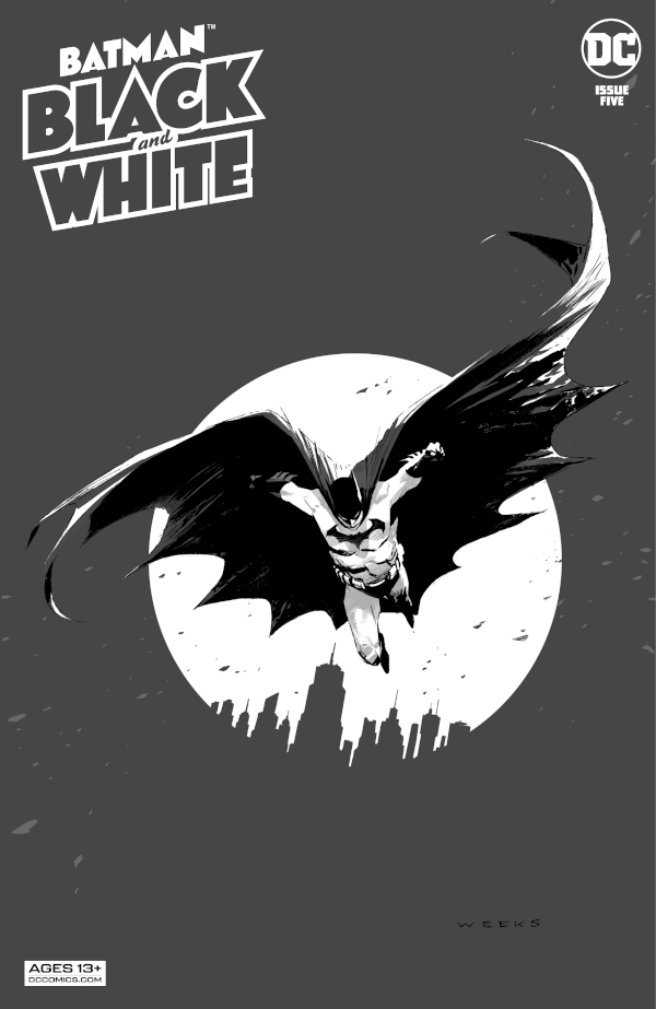 Batman: Black and White #5 comic review