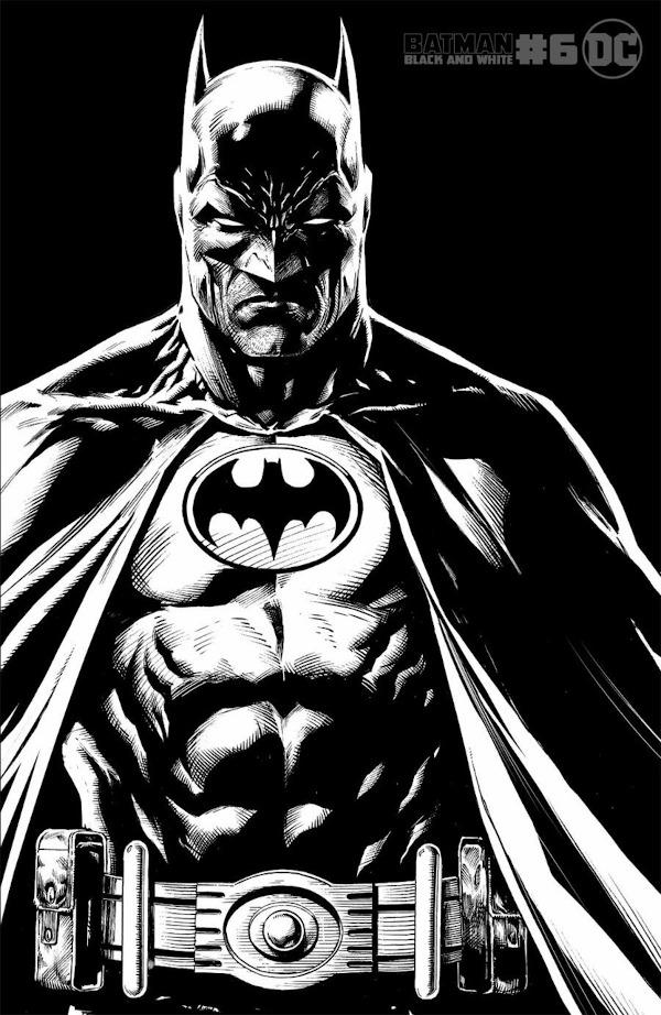 Batman: Black and White #6 comic review