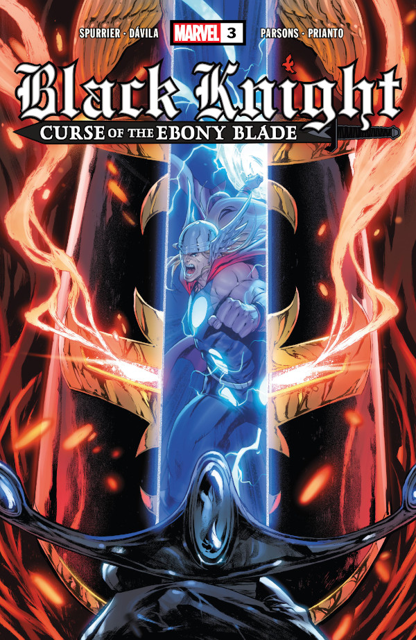 Black Knight: Curse of the Ebony Blade #3 comic review