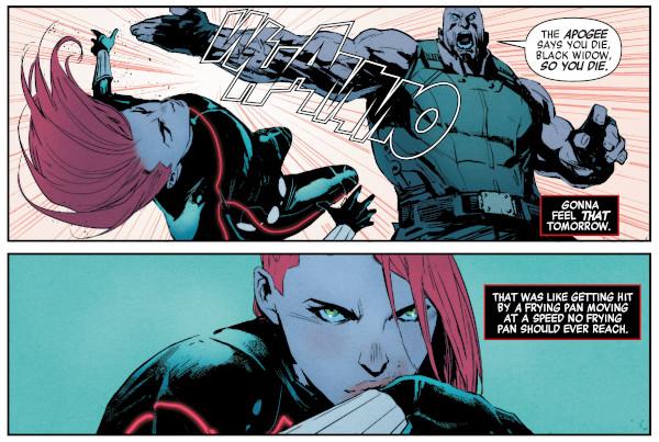 Black Widow #6 comic review
