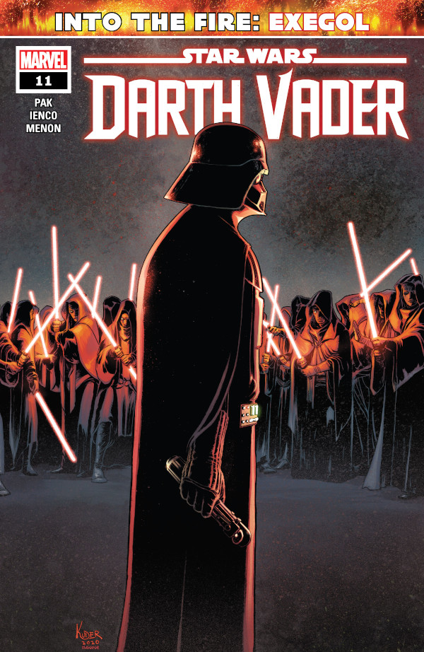 Darth Vader #11 comic review