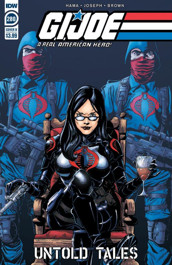 G.I. JOE: A Real American Hero #280 comic review