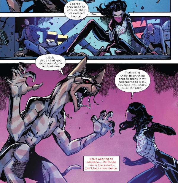 Silk #2 comic review