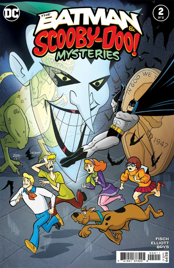 The Batman & Scooby-Doo Mysteries #2 comic review