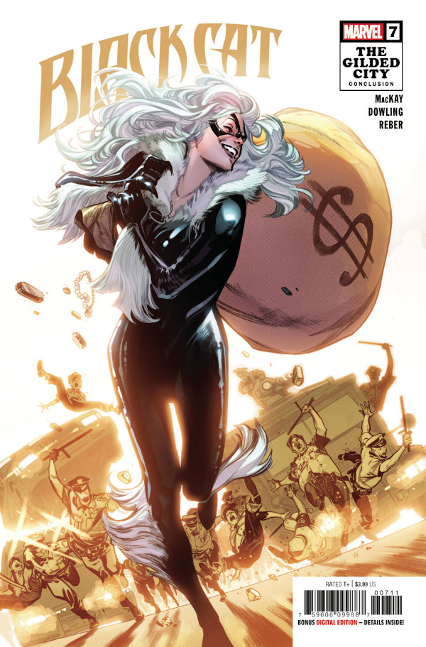 Black Cat #7 comic review