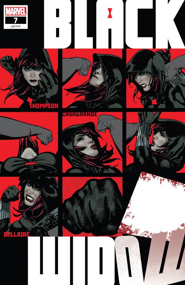 Black Widow #7 comic review