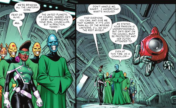 Green Lantern #3 comic review