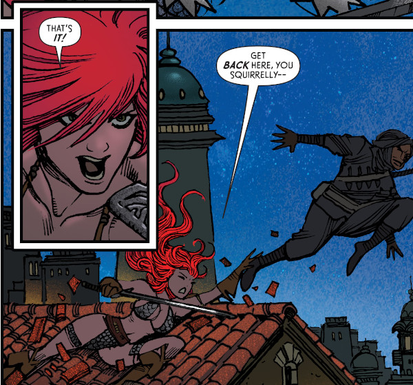 The Invincible Red Sonja #2 comic review