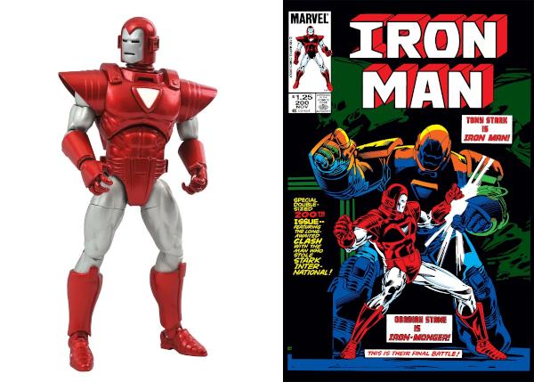 Marvel Now! Silver Centurion Iron Man Action Figure