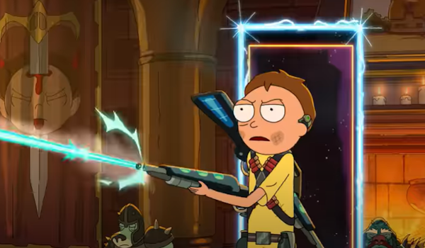 Rick and Morty - Mort Dinner Rick Andre