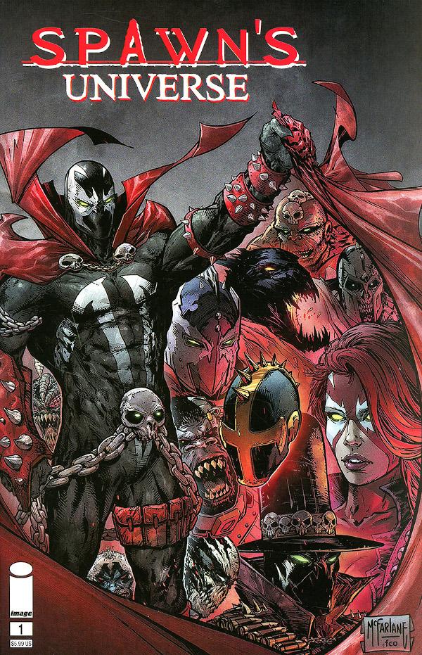 Spawn's Universe #1 comic review