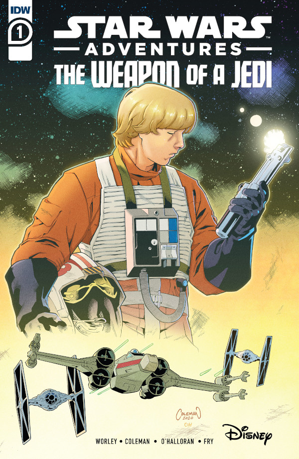 Star Wars Adventures: The Weapon of A Jedi #1 comic review