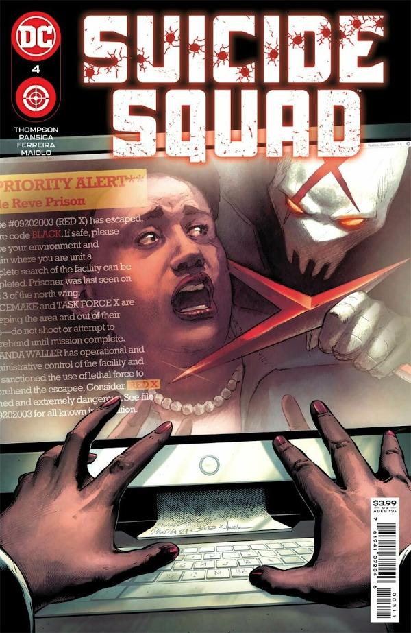 Suicide Squad #4 comic review