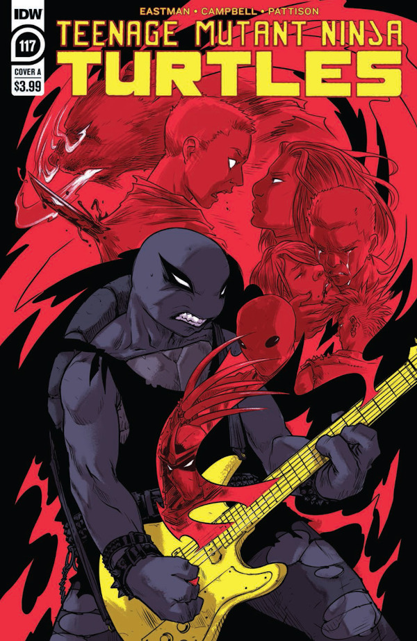 Teenage Mutant Ninja Turtles #117 comic review
