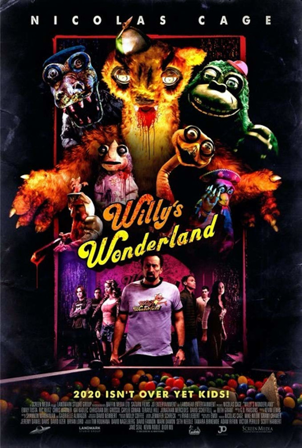 Willy's Wonderland DVD review