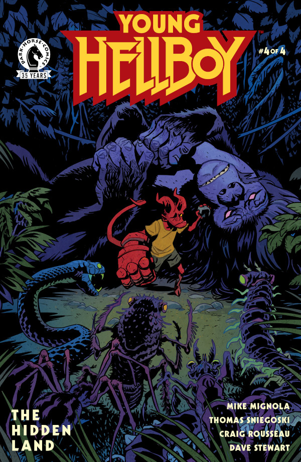 Young Hellboy: The Hidden Land #4 comic review