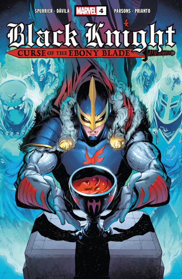 Black Knight: Curse of the Ebony Blade #4 comic review