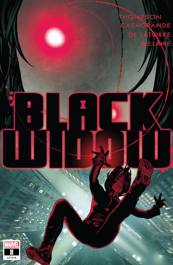 Black Widow #8 comic review