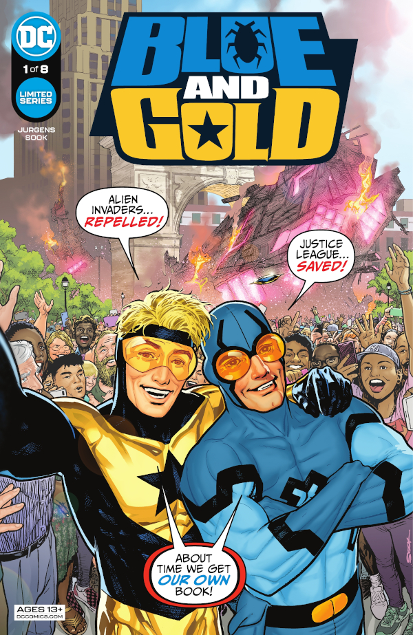 Blue and Gold #1 comic review