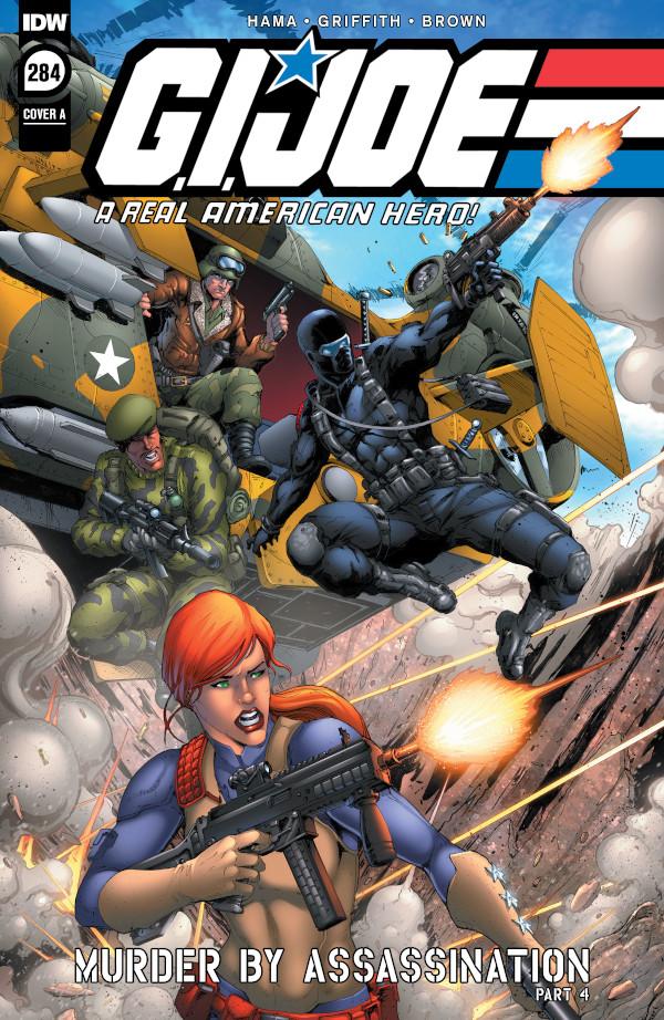 G.I. JOE: A Real American Hero #284 comic review