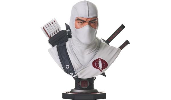 G.I. JOE Legends in 3D Storm Shadow Bust