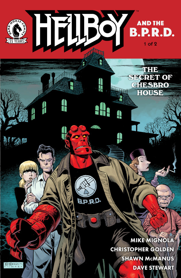 Hellboy and the B.P.R.D.: The Secret of Chesbro House #1 comic review
