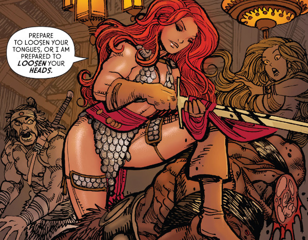 The Invincible Red Sonja #3 comic review