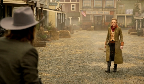 Legends of Tomorrow - Stressed Western TV review