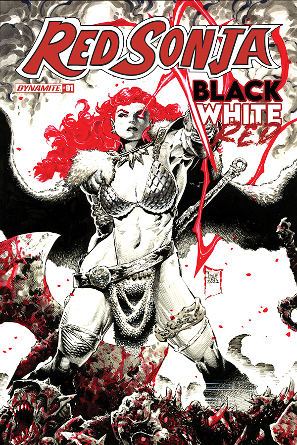 Red Sonja: Black, White, Red #1 comic review