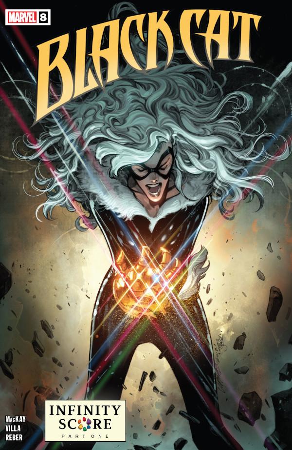 Black Cat #8 comic review